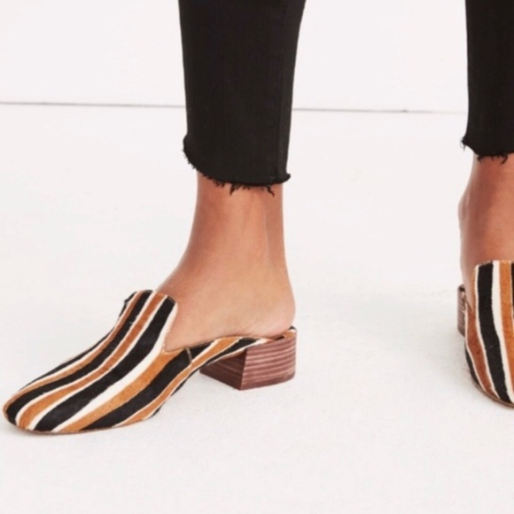 653d057fac6 Madewell willa loafer mules in calf
